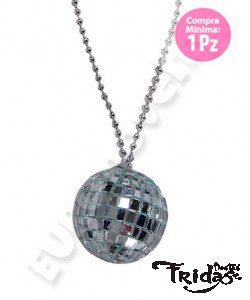 Collar Disco Ball  2""
