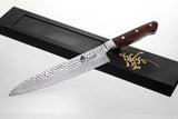 VG-10 67-Layer Hammered Damascus Gyuto Chef Knife 10.5-inch