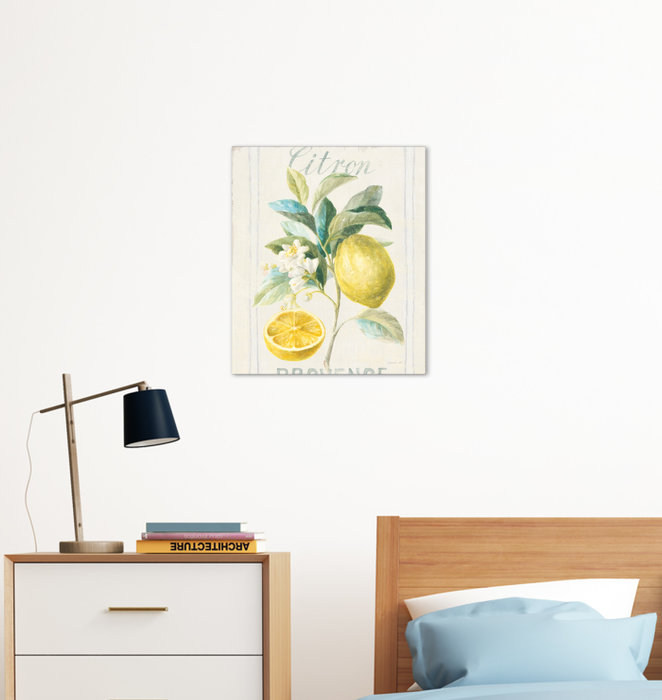 Floursack Lemon IV Wall Art <br>(45785)<br> - New Depictions | Wall Art Prints