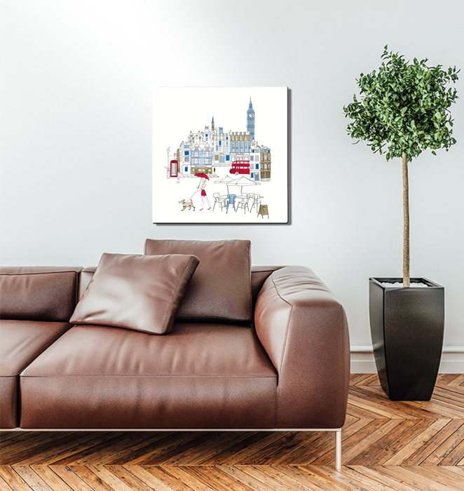 World Cafe I London Wall Art <br>(49480)<br> - New Depictions | Wall Art Prints
