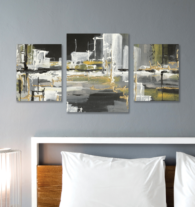 Urban Gold III Multi-Panel Canvas <br>(50276)<br>