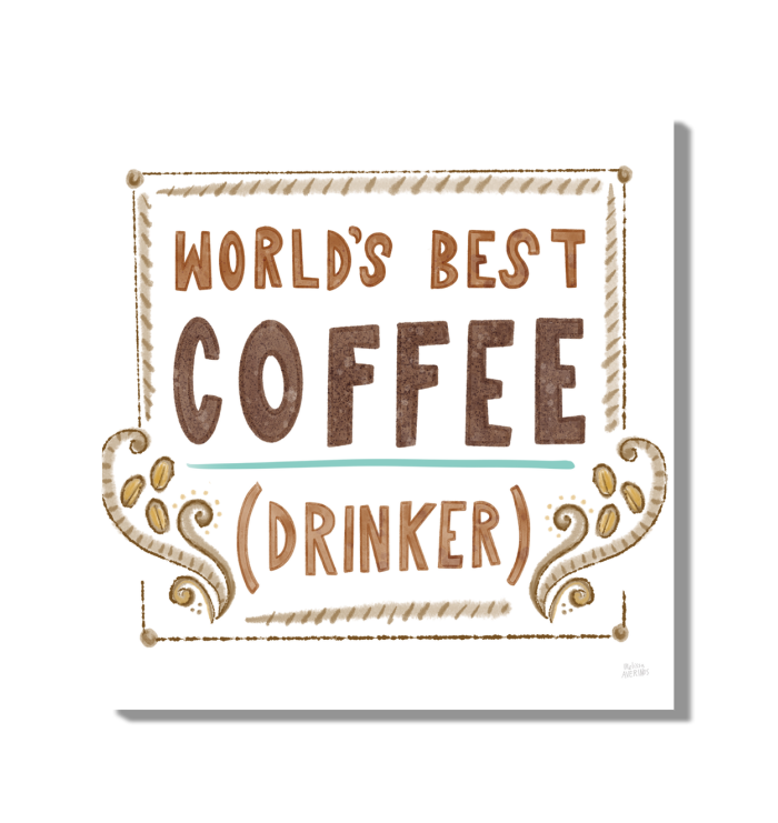 Coffee is Life II Wall Art <br>(59974)<br> - New Depictions | Wall Art Prints