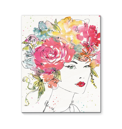 Floral Figures I Wall Art <br>(54627)<br> - New Depictions | Wall Art Prints