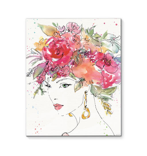 Floral Figures II Wall Art <br>(54628)<br> - New Depictions | Wall Art Prints