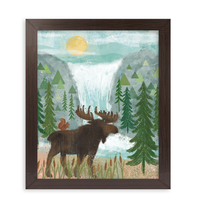 Woodland Forest IV Wall Art <br>(58761)<br> - New Depictions | Wall Art Prints