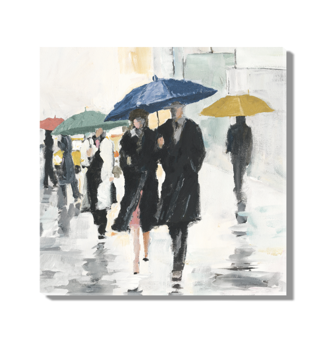 City In The Rain II Wall Art <br>(54228)<br> - New Depictions | Wall Art Prints
