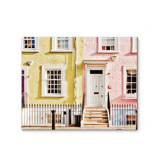 London Houses Spring Wall Art <br>(54227)<br> - New Depictions | Wall Art Prints