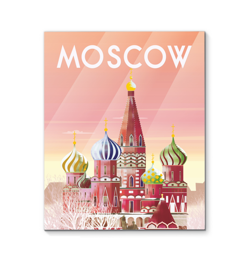 Moscow   <br>(62038)<br> - New Depictions | Wall Art Prints