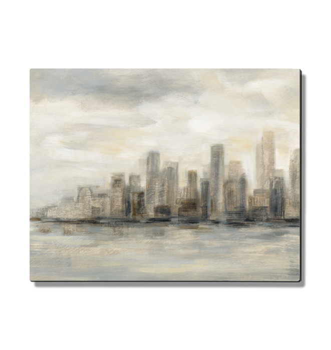 Manhattan Low Clouds Wall Art <br>(49262)<br> - New Depictions | Wall Art Prints