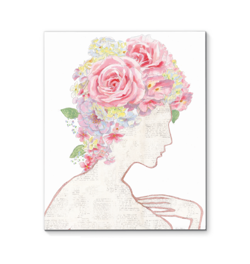 She Dreams of Roses I Wall Art <br>(57416)<br> - New Depictions | Wall Art Prints