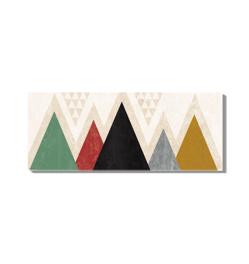 Mod Triangles Wall Art <br>(53754)<br> - New Depictions | Wall Art Prints