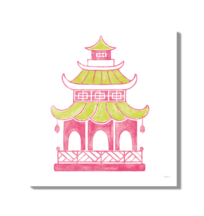 Everyday Chinoiserie IV Pink Wall Art <br>(55561)<br> - New Depictions | Wall Art Prints