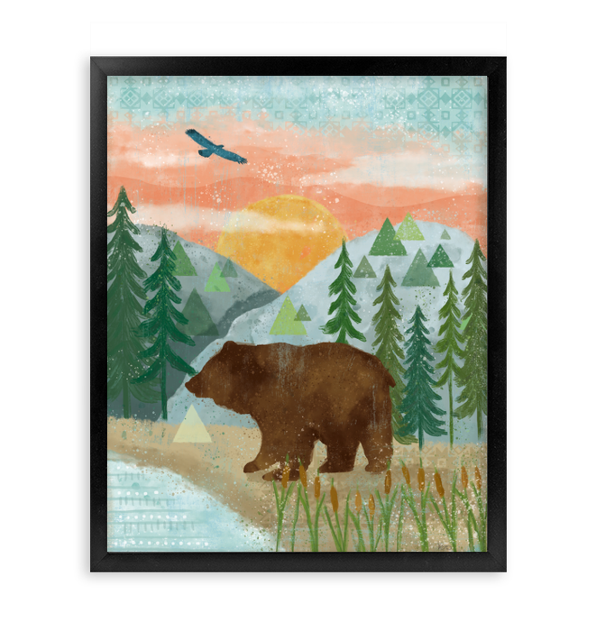 Woodland Forest III Wall Art <br>(58760)<br> - New Depictions | Wall Art Prints