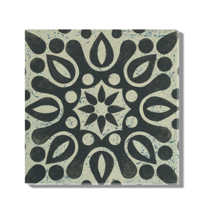 Black and White Tile IV Wall Art <br>(55524)<br> - New Depictions | Wall Art Prints