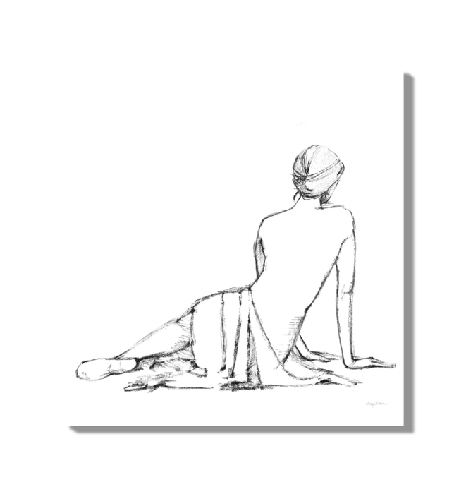 Figure Study II BW Wall Art <br>(53950)<br> - New Depictions | Wall Art Prints