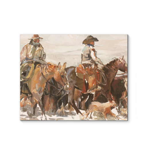 The Roundup Warm Wall Art <br>(52853)<br> - New Depictions | Wall Art Prints