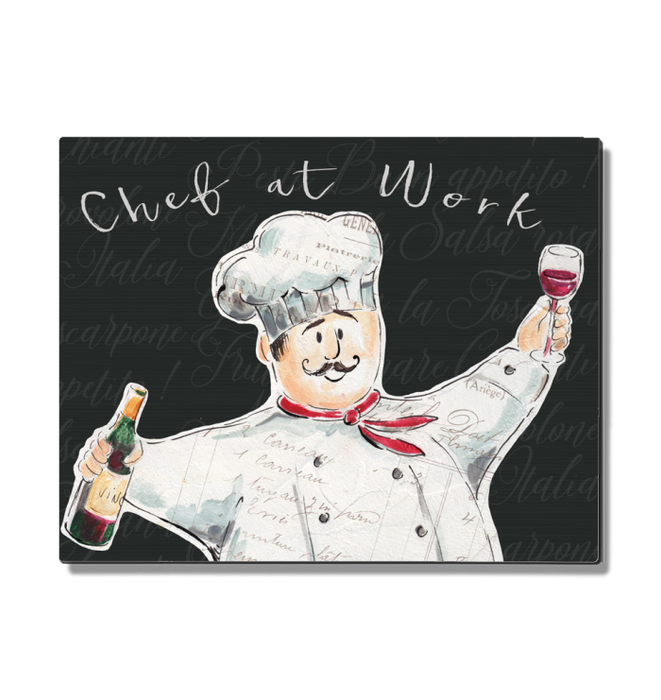 Chef at Work I Wall Art <br>(52667)<br> - New Depictions | Wall Art Prints