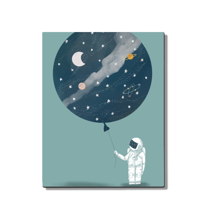 Astronaut Balloon Wall Art <br>(53219)<br> - New Depictions | Wall Art Prints