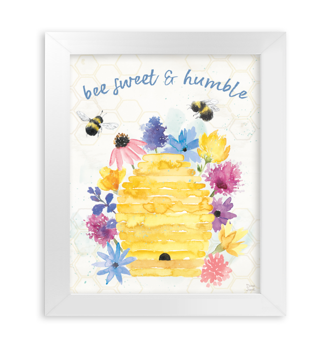 Bee Harmony IV Wall Art <br>(58649)<br> - New Depictions | Wall Art Prints