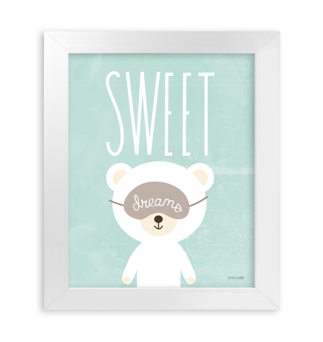 Sweet Dreams | Animal themed art for toddlers <br>(56453)<br> - New Depictions | Wall Art Prints