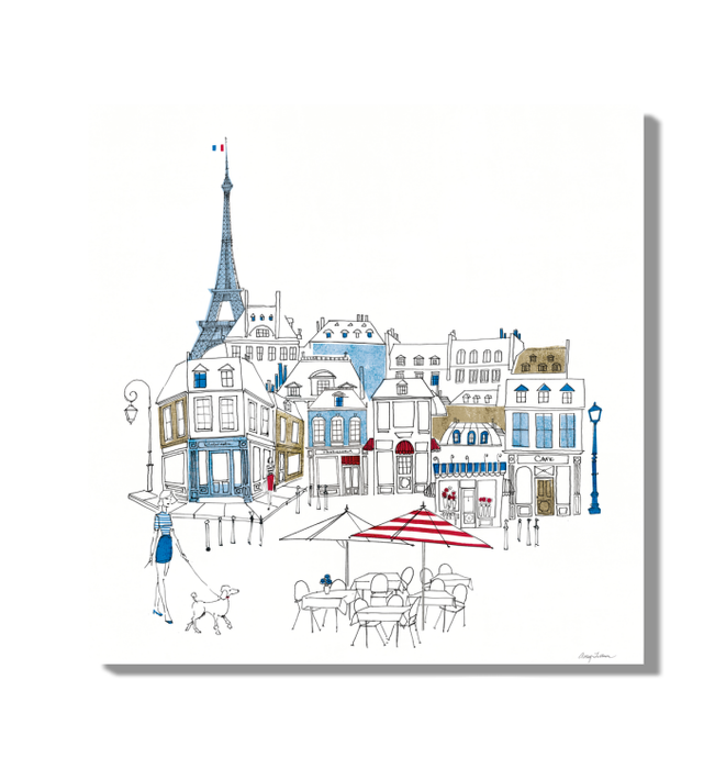 World Cafe II Paris Color Wall Art <br>(49481)<br> - New Depictions | Wall Art Prints