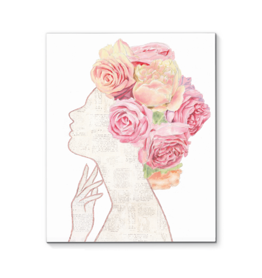 She Dreams of Roses II Wall Art <br>(57417)<br> - New Depictions | Wall Art Prints