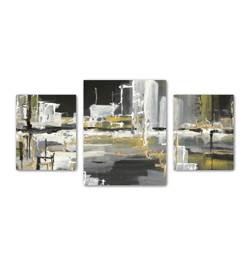 Urban Gold III Multi-Panel Canvas <br>(50276)<br> - New Depictions | Wall Art Prints