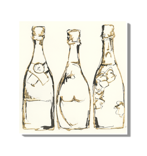 Champagne is Grand III Wall Art <br>(49450)<br>