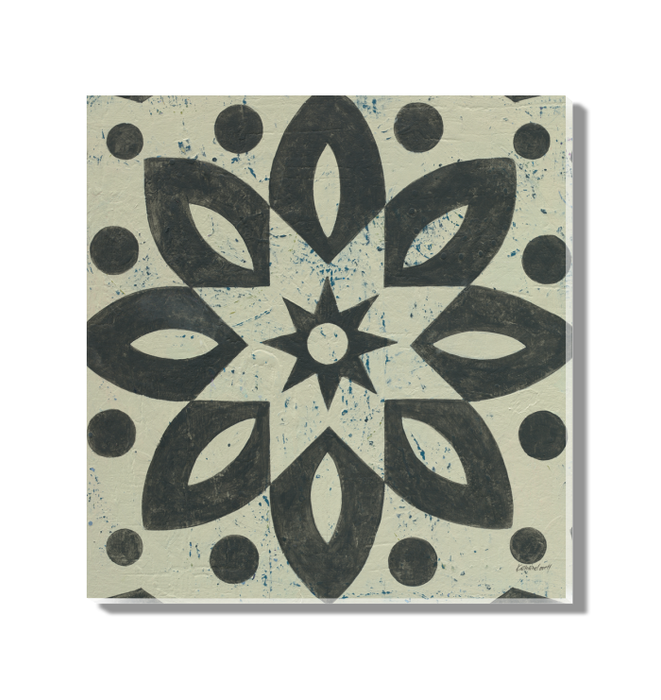 Black and White Tile I Wall Art <br>(55521)<br> - New Depictions | Wall Art Prints