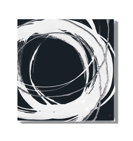 Gilded Enso II BW Wall Art <br>(54817)<br> - New Depictions | Wall Art Prints