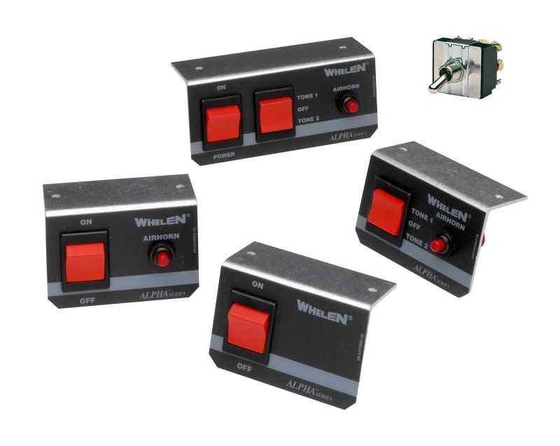 Whelen - Optional Remote Switches for Alpha™ Siren Series