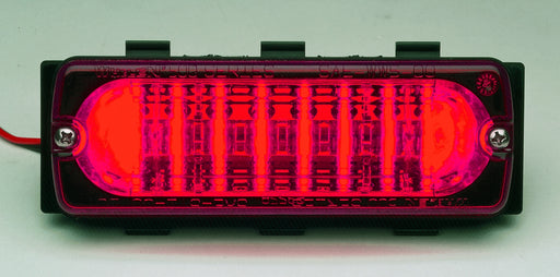 Whelen 500 Series Red LED/Lens Linear Super-LED® Lightheads, 50R02ZRR