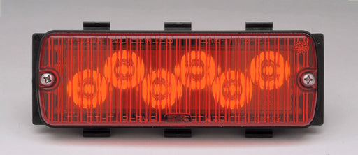 Whelen 500 Series Red LED/Lens TIR6™ Super-LED®, 50R03ZRR