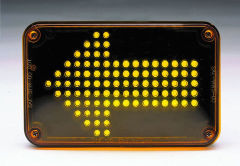 Whelen 600 Series 5mm LED Amber Turn Signal Lightheads, 60A00TAR