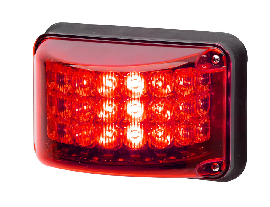 Whelen 600 Series Super-LED® Rota-Beam™ Red Lightheads, 6RBR