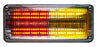 Whelen 700 Series Super-LED® Red/Amber Lighthead, 70RA6FCR