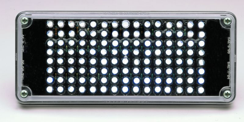 Whelen 700 Series 5mm LED Back-Up Lighthead- 70C00WCR
