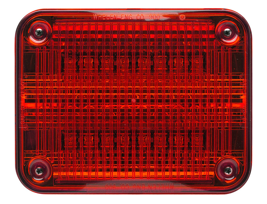 Whelen 900 Series Super-LED® Red Lighthead, 90RR5FRR