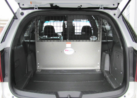 FORD PIU STEEL WIRE, REAR CARGO BARRIER WITH FILLER PANELS - 2020+