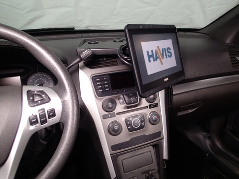 Havis Dash Mount for 2013-2019 Ford Interceptor Utility Vehicle, C-DMM-2001
