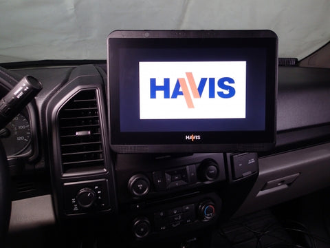 Havis Dash Mount for 2017-2019 Ford F-250, 350, 450 Pickup and F-450, 550 Cab Chassis, 2018-2019 Ford Expedition, and 2015-2019 Ford F-150, C-DMM-2006