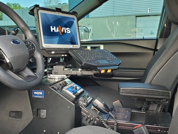 Havis 2020 Ford Interceptor Utility Specific Angled Console, C-VS-1012-INUT