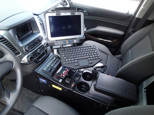 "Havis 2015-2019 Chevrolet Tahoe Police Pursuit Vehicle Specific 23"" Console, C-VS-1013-TAH-1"