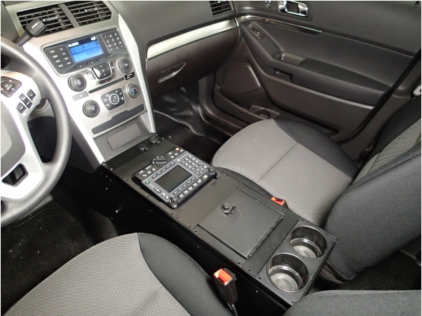 "Havis 2013-2019 Ford Police Interceptor Utility Vehicle Specific 24"" Console, C-VS-2400-INUT"
