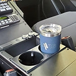Havis Self-Adjusting Double Cup Holder, CUP2-1001