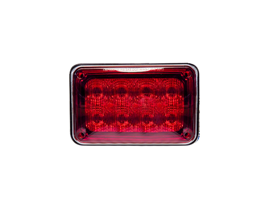 K60 AUTOSYNC RED FLASHER LAMP CLEAR LENS