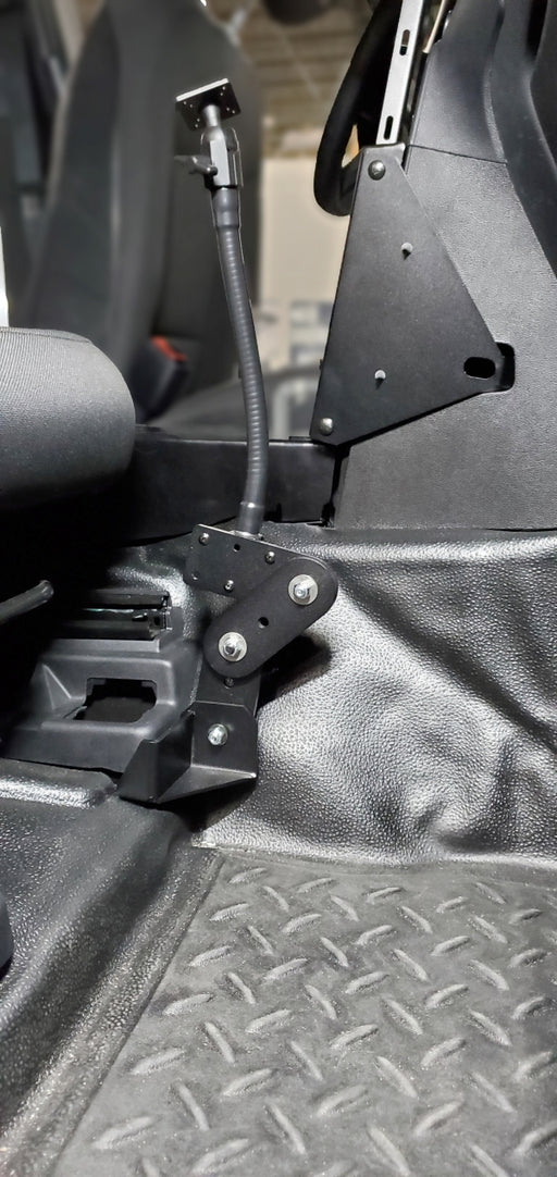 Havis Flex Arm Package Including Flex Arm And Mount For 2020 Ford Interceptor Utility And Retail Explorer, PKG-FAM-119