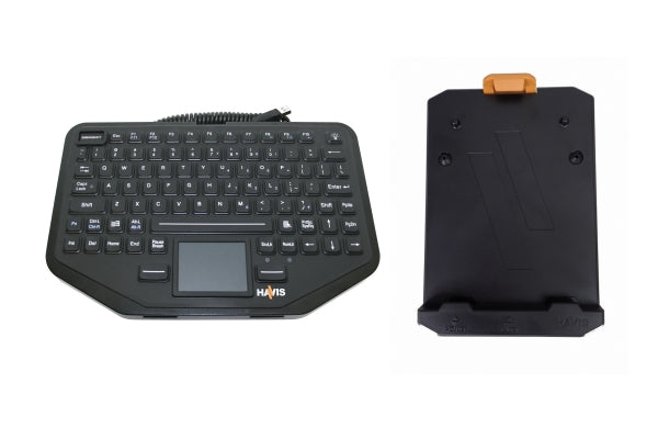 INTEGRATED TOUCHPAD KEYBOARD AND KEYBOARD MOUNT SYSTEM