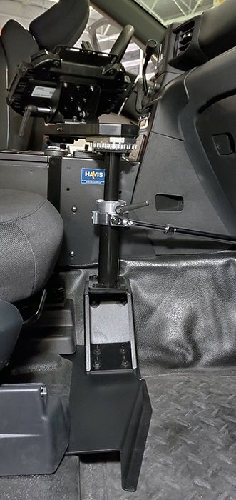 Havis 2020-2021 Ford Interceptor Utility and Ford Retail Explorer Premium Passenger Side Mount Package, PKG-PSM-3006