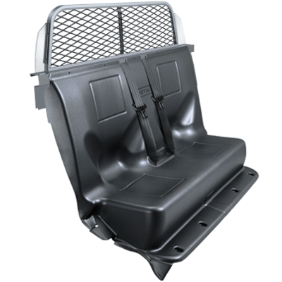 Setina Expanded Metal Transport Seating w/Replacement Seat, QK0635ITU20